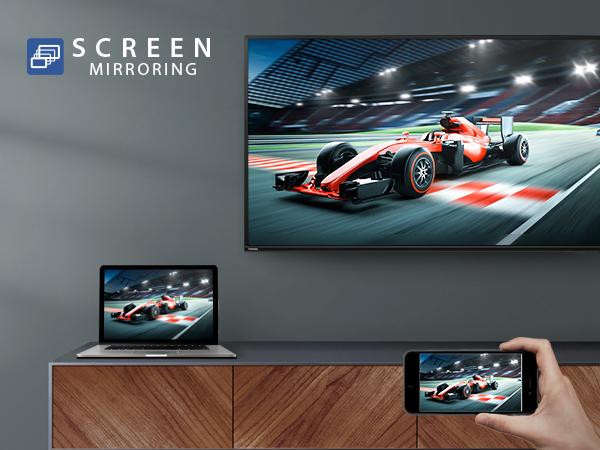 Toshiba 4K Smarter TV SCREEN MIRRORING