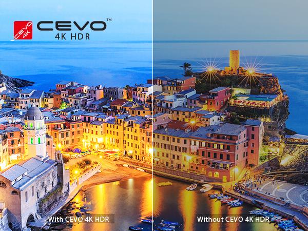 Toshiba 4K Smarter TV WITH CEVO 4K HDR Engine