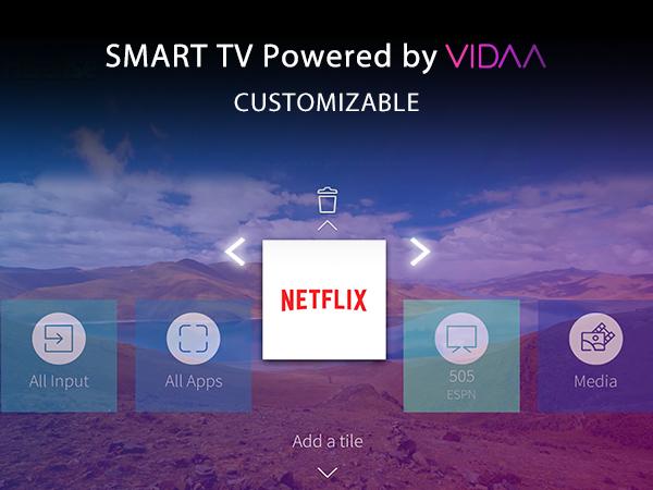 Toshiba 4K Smarter TV Powered by VIDAA