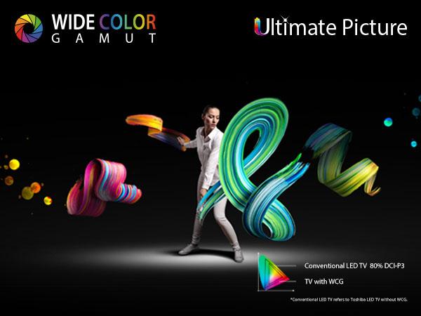 Toshiba Ultimate 4K TV with MEMC